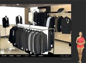 奔骜服饰网站展示